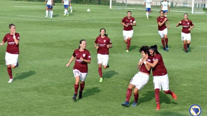 Veliki uspjeh: Igračice SFK 2000 među 32 najbolje ekipe u Evropi
