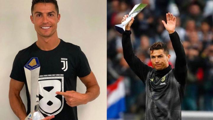 Cristiano Ronaldo se pohvalio na društvenim mrežama: Prvak u Engleskoj, Španiji i Italiji...
