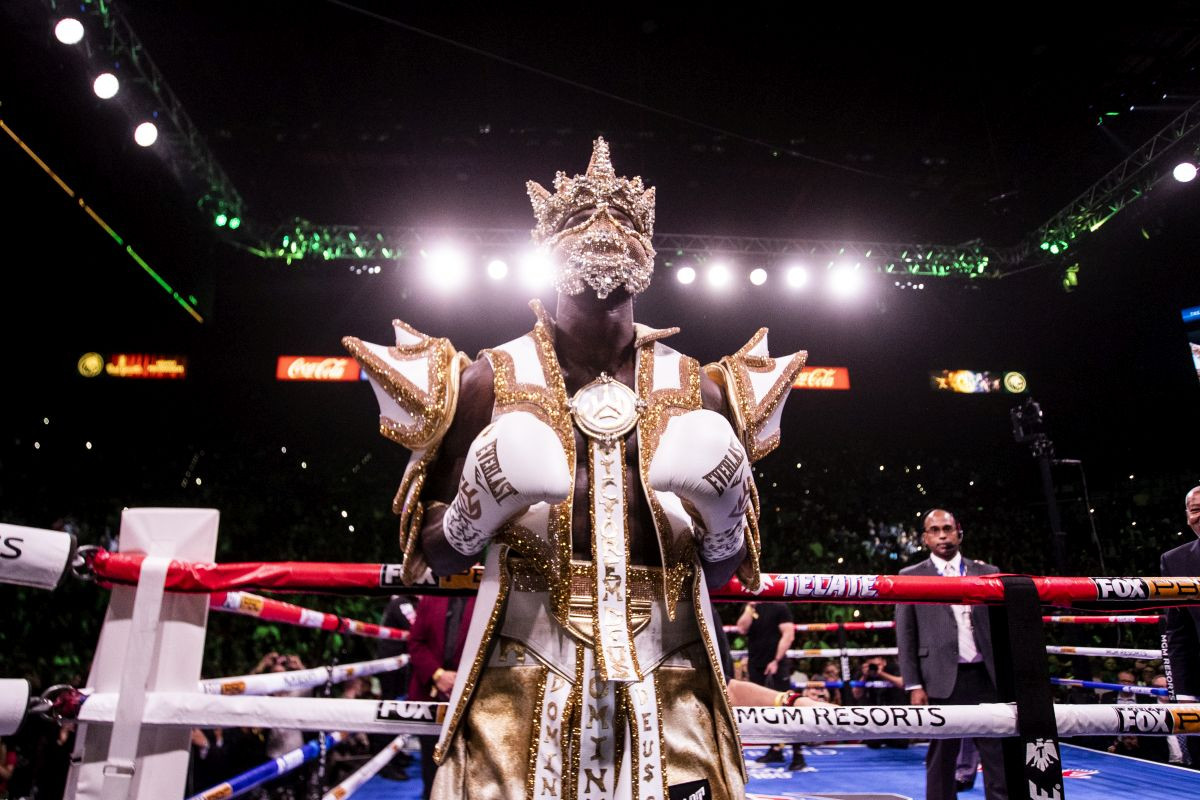 Wilder je izdvojio nevjerovatnu cifru za masku sa kojom je ušao u ring