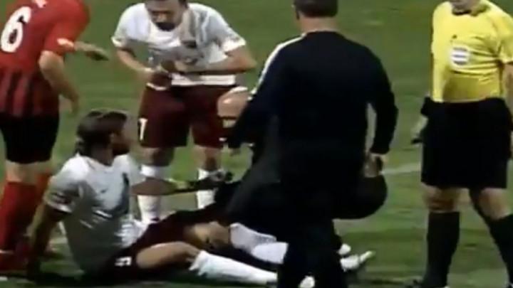 Problemi za FK Sarajevo: Ahmetović zbog povrede napustio teren