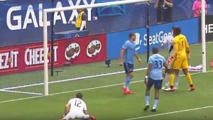 Golman krenuo na Ibrahimovića, ali bolje da nije