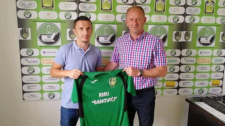 Trumić se vratio u FK Budućnost