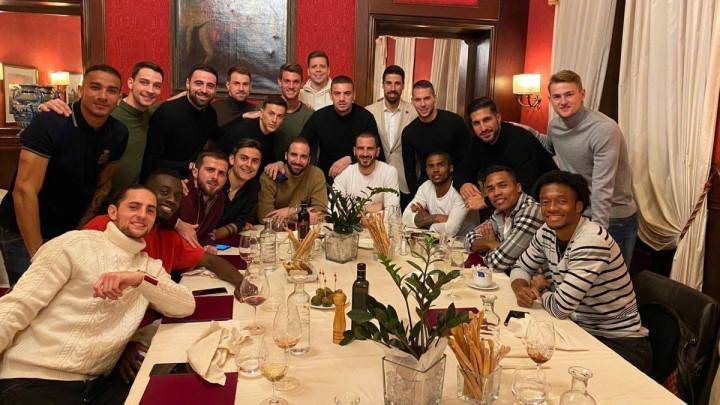 Poznato koji od igrača Juventusa je organizovao zajedničku večer