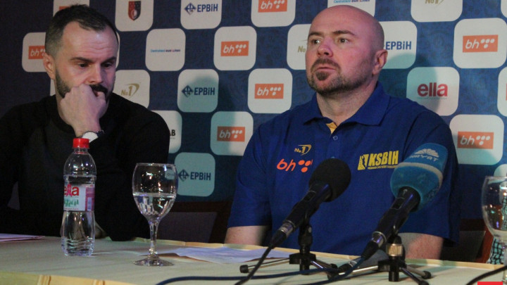 Bosnić saopštio uži spisak igrača za kvalifikacione utakmice za Svjetsko prvenstvo