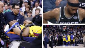 Neke povrede je teško i vidjeti, a kamoli doživjeti: Vince Carter je bio u šoku