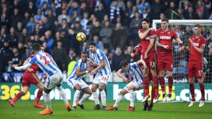 Jeste li slučajno vidjeli statistiku na meču Huddersfield - Swansea?