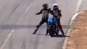 Šok na utrci: Nije ga uspio prestići, pa odlučio da ga nokautira