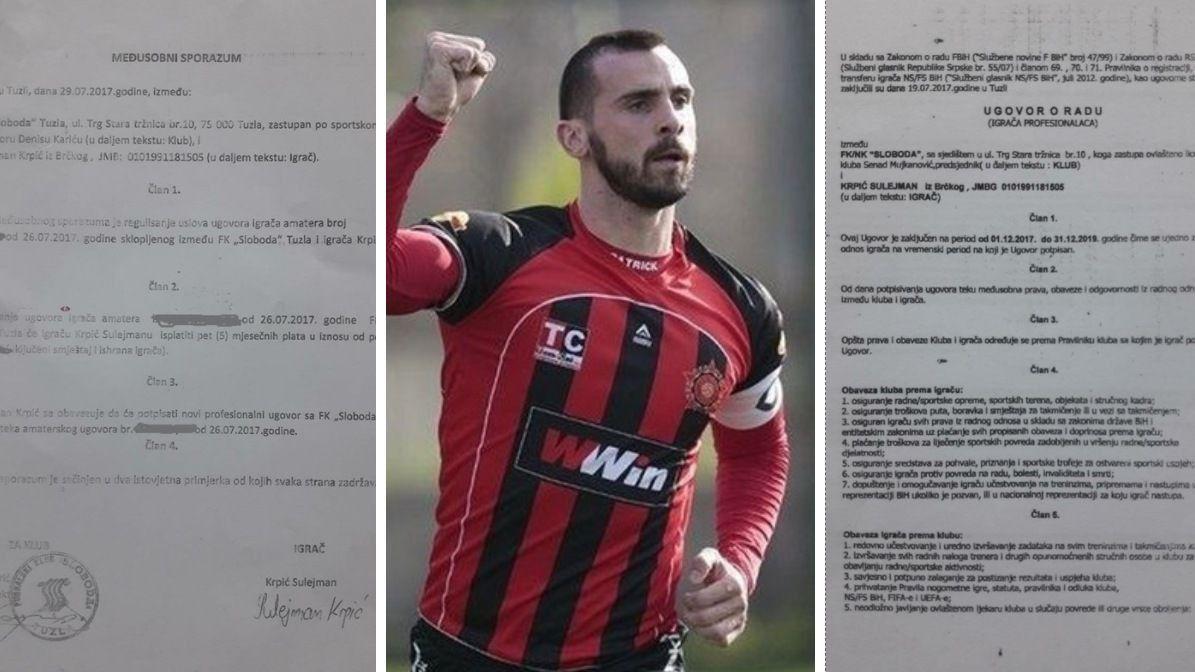"""""""Slučaj Krpić"""": Šta piše u međusobnom sporazumu i profesionalnom ugovoru?"""