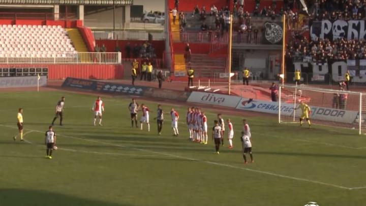 Zbog sramotnog ponašanja navijača, golčina igrača Partizana je pala u drugi plan