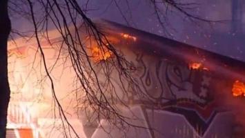Uvertira derbiju: Zapaljene prostorije navijača Ajaxa