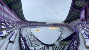 Snijeg jutros prekrio teren Valladolida, a igrači ostali iznenađeni kada su stigli stadion