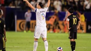Ibrahimović se nakon pobjede u derbiju Los Angelesa oglasio samo s tri riječi