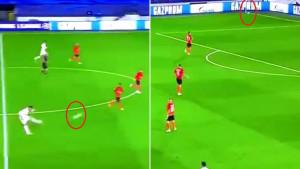 Fudbaler Reala je gađao gol s centra, umalo je pogodio korner zastavicu