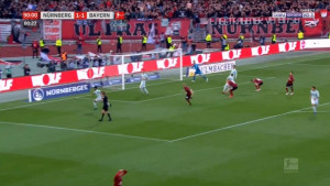 Pogledajte promašaj Nurnberga sa bijele tačke u 91. minuti