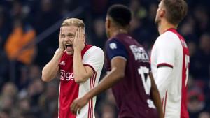 Ajax nakon dvije godine izgubio kod kuće u prvenstvu