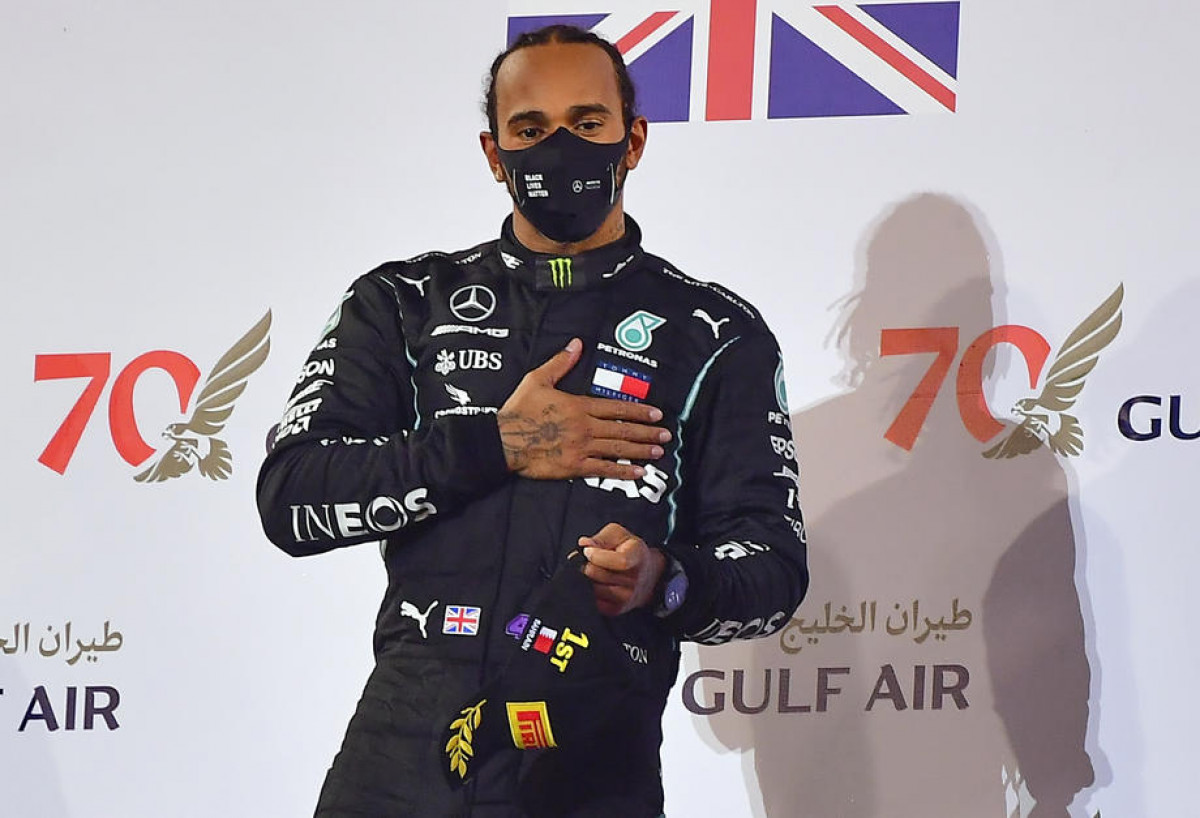 Lewis Hamilton postaje Sir Lewis Hamilton