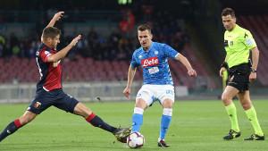 Napoli i Genova podijelili bodove u prilično nebitnom meču