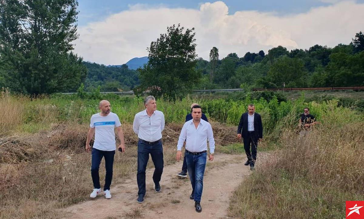 Šuker i Olgun posjetili prostor na kojem bi se trebala izgraditi Akademija NK Čelik