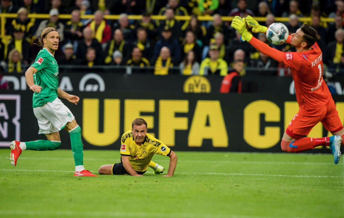 Neočekivani kiks Borussije na svom terenu protiv Werdera
