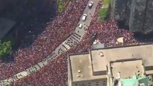 Spektakularni kadrovi stižu iz Toronta, dva miliona ljudi slavi šampione!