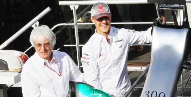 Ecclestone: Schumacher će nedostajati Formuli 1