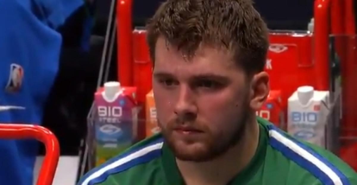 Nevjerica na licu, pa ostanak u dvorani nakon utakmice: Luka Dončić pokazuje zašto je veliki igrač