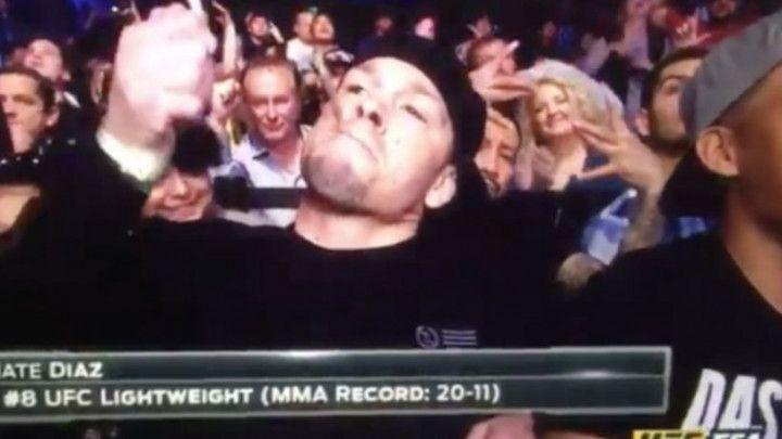 UFC borac se pojavio s džointom u emisiji uživo