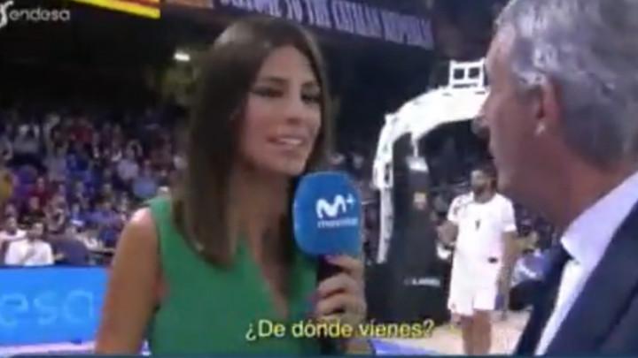 Izraz Pešićevog lica kada je saznao odakle dolazi novinarka postao viralni hit