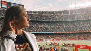 Nije ni stigao u Barcelonu, a djevojka mu slavila titulu na Nou Campu