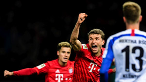Bayern isprašio Herthu za samo 16 minuta