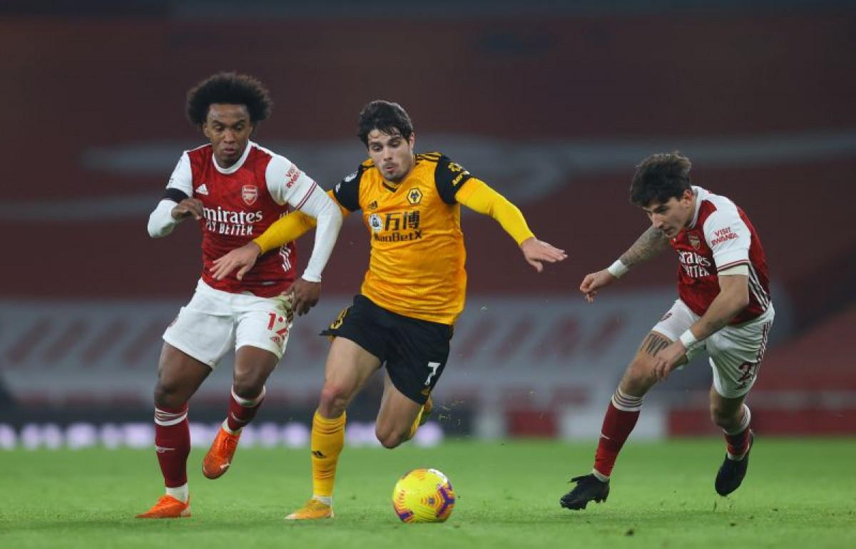 Očajni Arsenal ponovo poražen: Wolverhampton slavio na Emiratesu