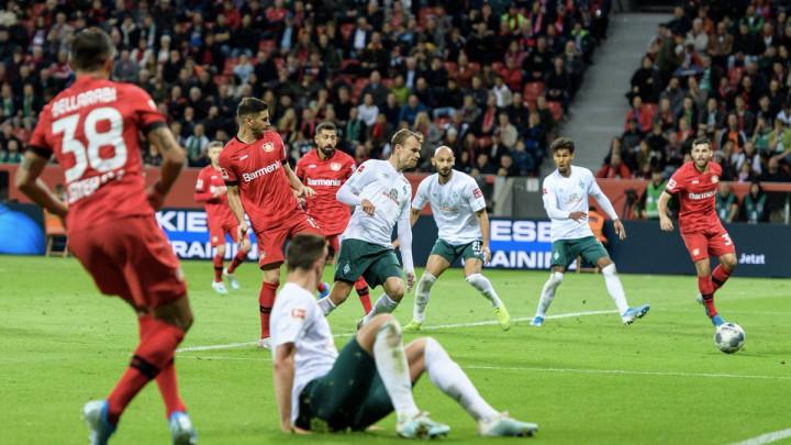 Leverkusen i Werder u utakmici punoj preokreta odigrali neriješeno