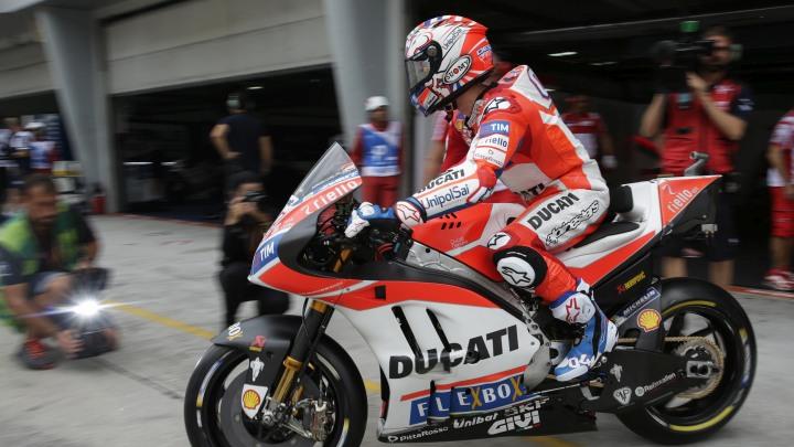 Dovizioso najbrži na prva dva treninga u Maleziji