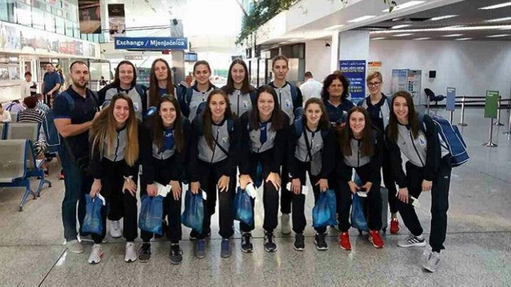 Ženska U20 reprezentacija otputovala na Eurobasket