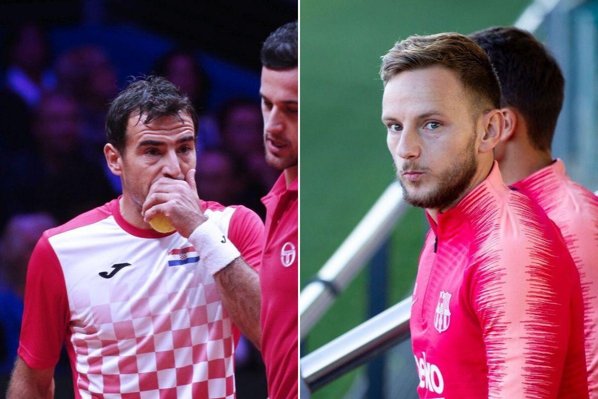 Hrvatski teniser napisao da navija za Real Madrid, a onda mu se na Instagramu javio Ivan Rakitić