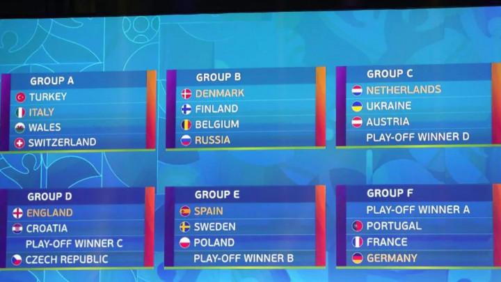 UEFA objavila raspored: Kada će igrati Zmajevi ako se plasiraju na Evropsko prvenstvo?