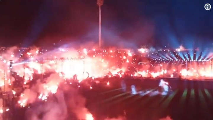 Navijači PAOK-a 'zapalili' Solun i proslavili naslov prvaka