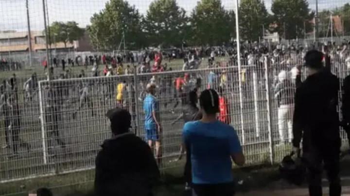 """Francuzi u šoku jer je u """"crvenoj zoni"""" odigrana  utakmica pred gledateljima"""