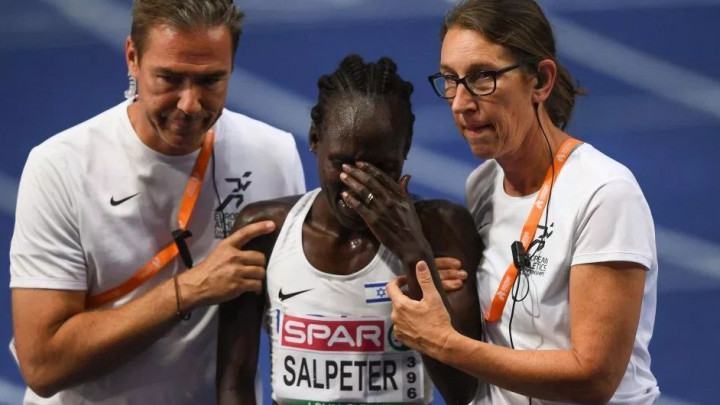 Atletičarka iz Izraela se osramotila: Proslavila srebro, a do kraja ostao još jedan krug