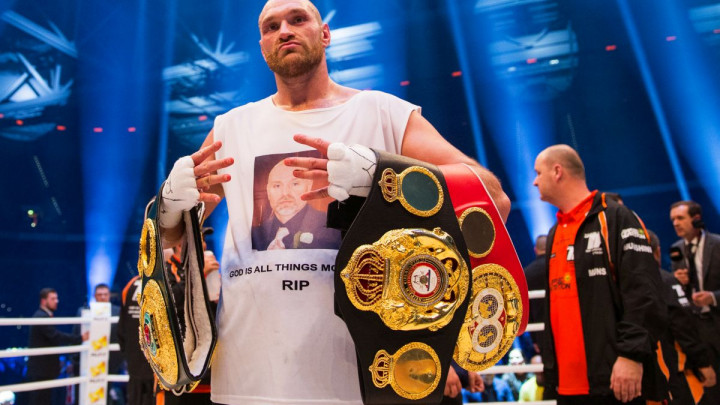 Tyson Fury sutra u ringu: Zna da će postati mulitmilioner ako me pobijedi