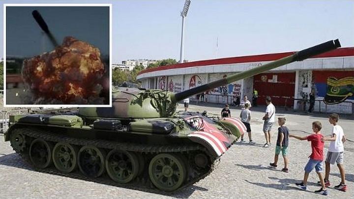 """Rad """"uništio"""" Zvezdin tenk!"""