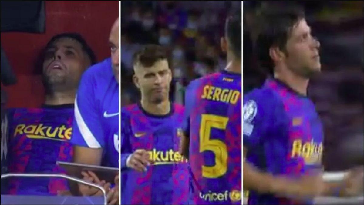Teško je pronaći prave riječi za izraz lica igrača Barcelone