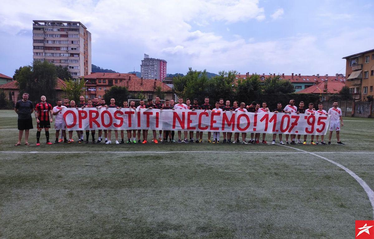 Fukare i Red Dragonsi uz snažnu poruku da se genocid u Srebrenici neće oprostiti