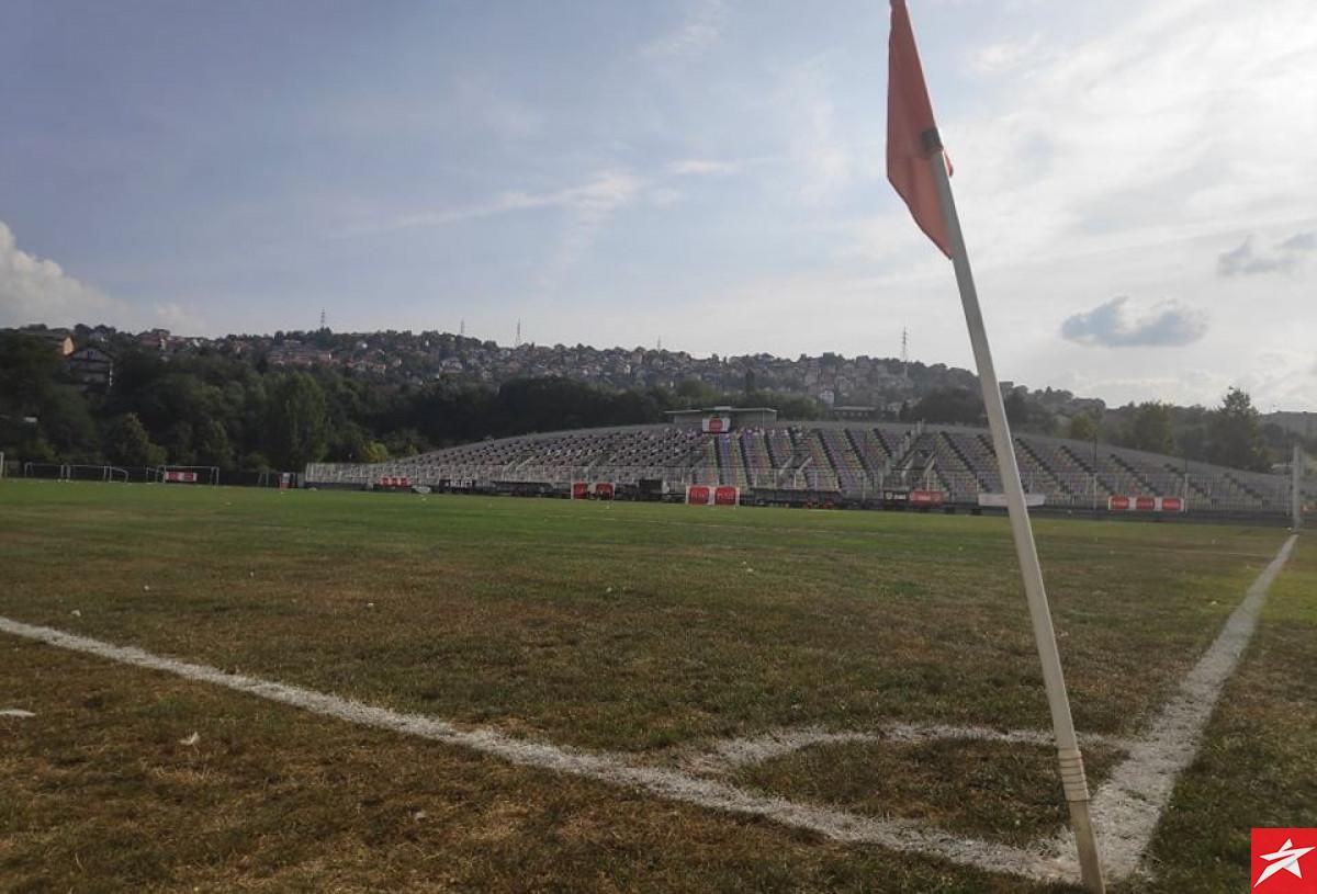 Pogledajte kako izgleda teren na stadionu Otoka pred meč Olimpika i Sarajeva