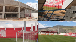 """Zdenka """"ušminkana"""", ali tu nije kraj: Radovi na stadionu Rođeni ne prestaju"""