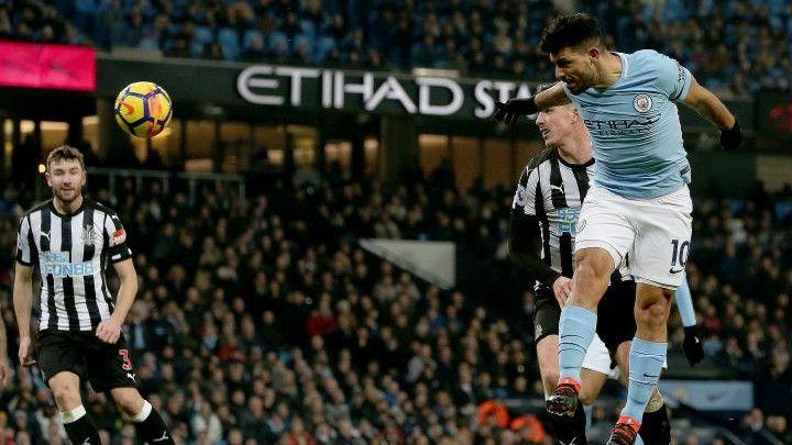 City siguran protiv Newcastlea, hat-trick Aguera