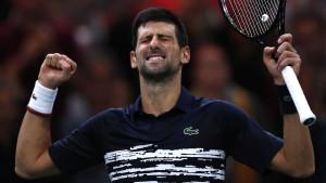 Nevjerovatni Đoković slavio protiv Shapovalova u Parizu i stigao do 34. Masters titule