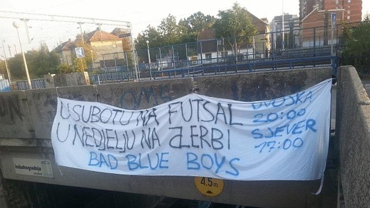 Bad Blue Boysi ipak idu na derbi s Hajdukom