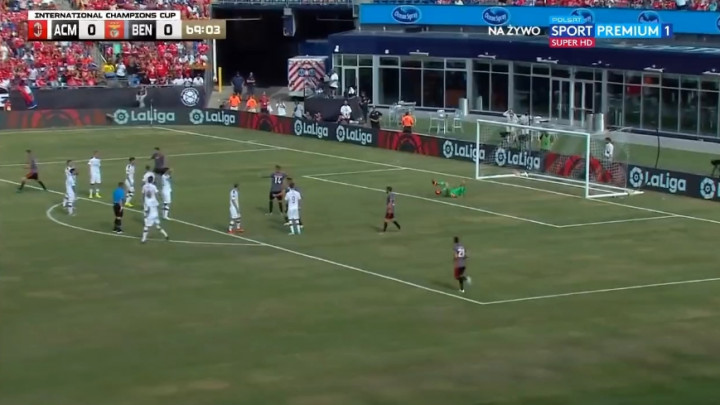 Milan napadao, ali je Benfica na kraju sretno stigla do pobjede