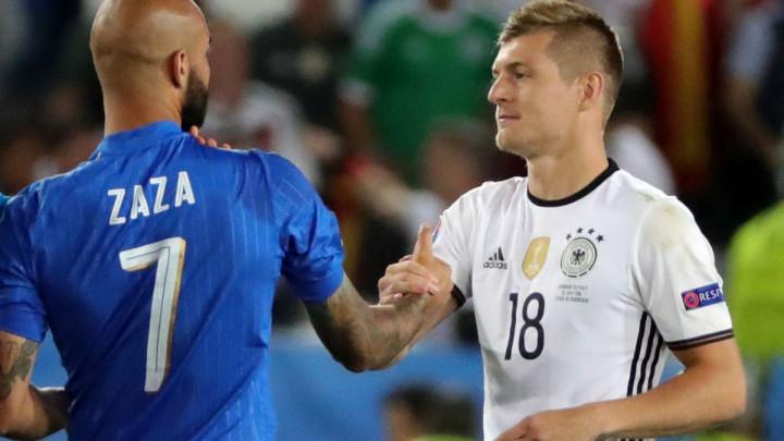 Njemačka - Italija iza zatvorenih vrata